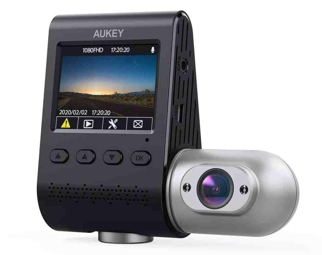 AUKEY Doble Dash CAM 3 in 1 1080P