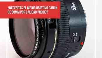 ¿Necesitas el mejor objetivo Canon de 50mm por calidad precio?