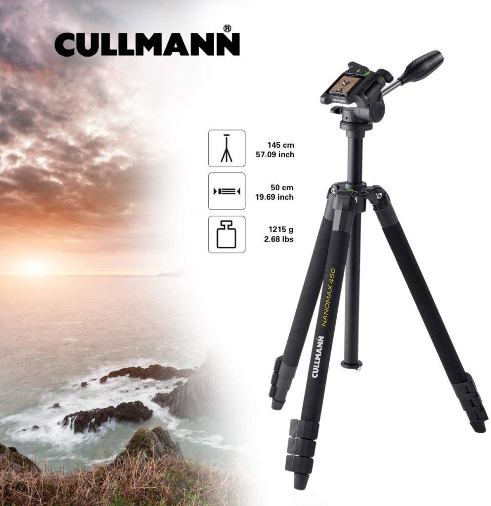 Cullmann Nanomax 450 RW20 - Trípode Completo (Aluminio)