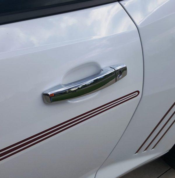 2010 – 2015 5th Gen Camaro V6 & V8 Chrome (2 Door) Handle Covers