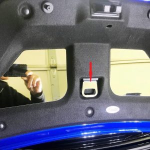 2016 – 2021 6th Gen Camaro Trunk Pull Cover