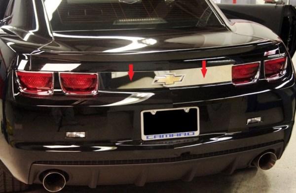 2010 – 2014 5th Gen Camaro V6 & V8 Trunk Trim Cover
