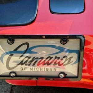 Camaros of Michigan Official Front License Plate