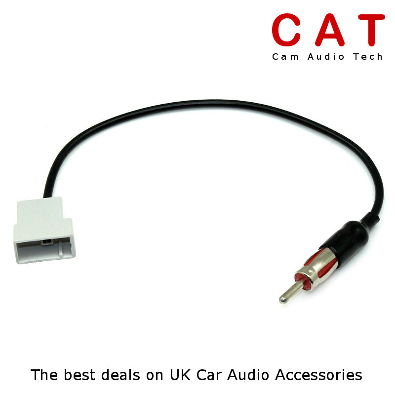 For Nissan 300ZX 1979-1994 Car Stereo Radio Aerial Antenna /& ISO Cable Lead
