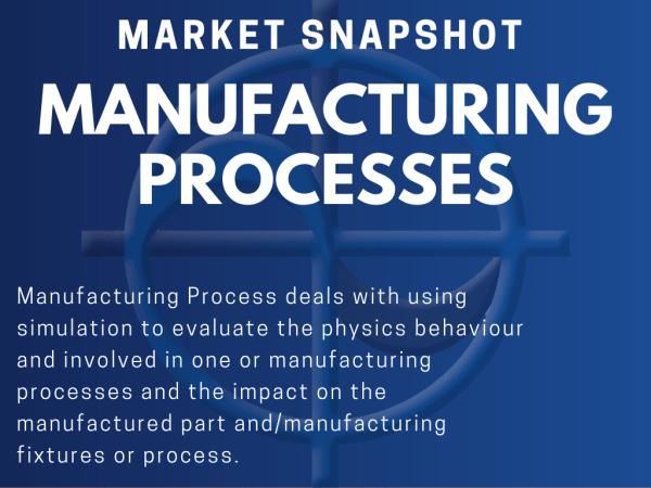 CAE Market Snapshot Manufacturing Process