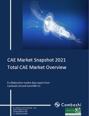 CAE Market Snapshot 2021 Total CAE Market Overview