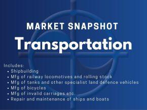 CAE Market Snapshot - Transportation
