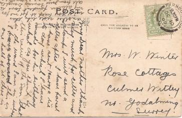 Brompton Hosp postcard 1