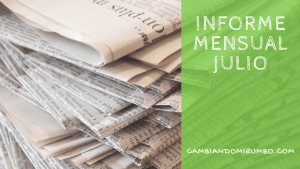 Informe Mensual Julio 2016