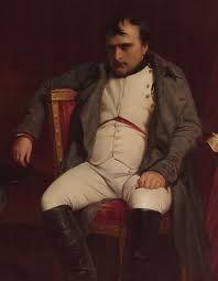 Napoleón vencido, derrotado