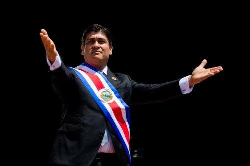Discurso Toma de Posesión  Presidente de la República Carlos Alvarado