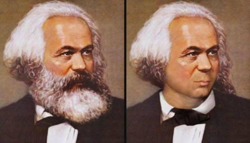 La barba de Carlos Marx