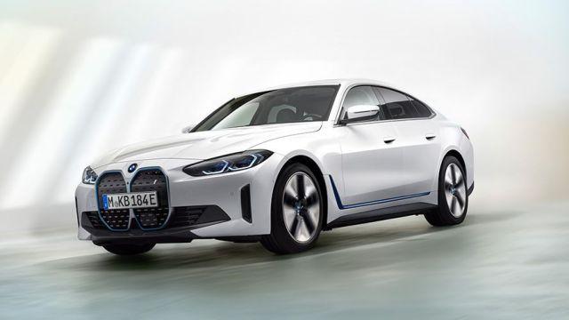 BMW i4 LATERLA DELANTERA