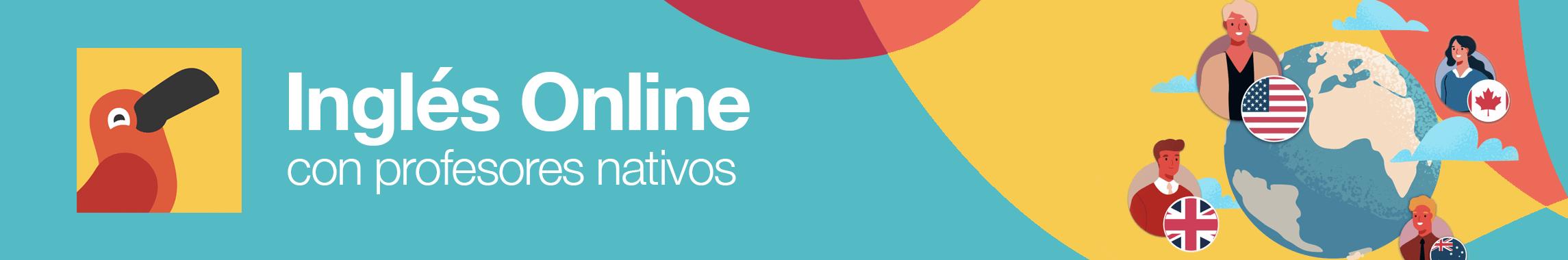 Inglés Online con Profesores Nativos