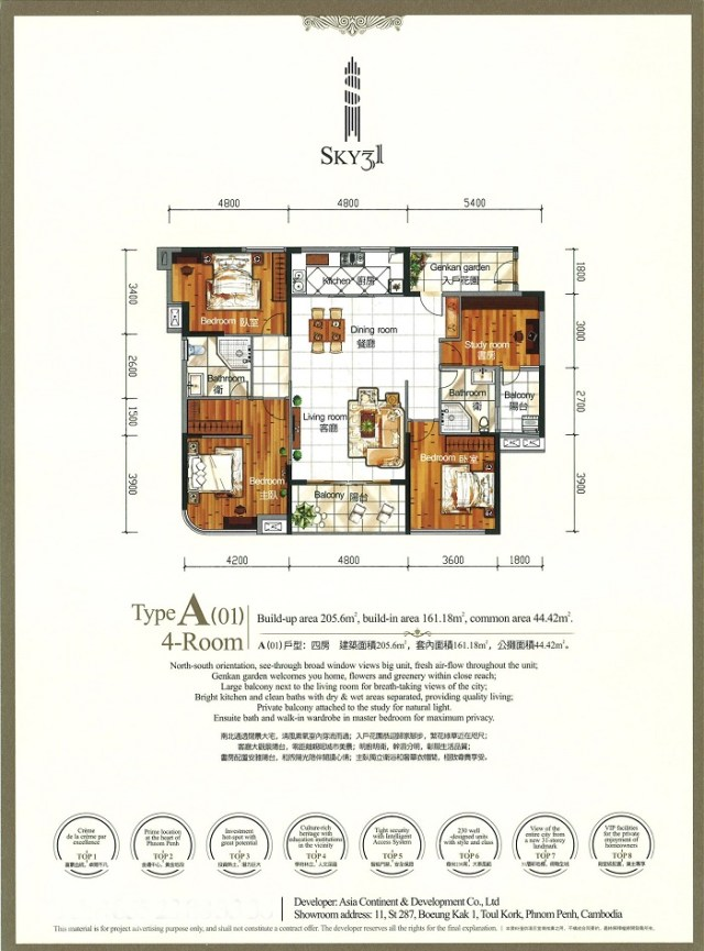 TYPE A 4bed