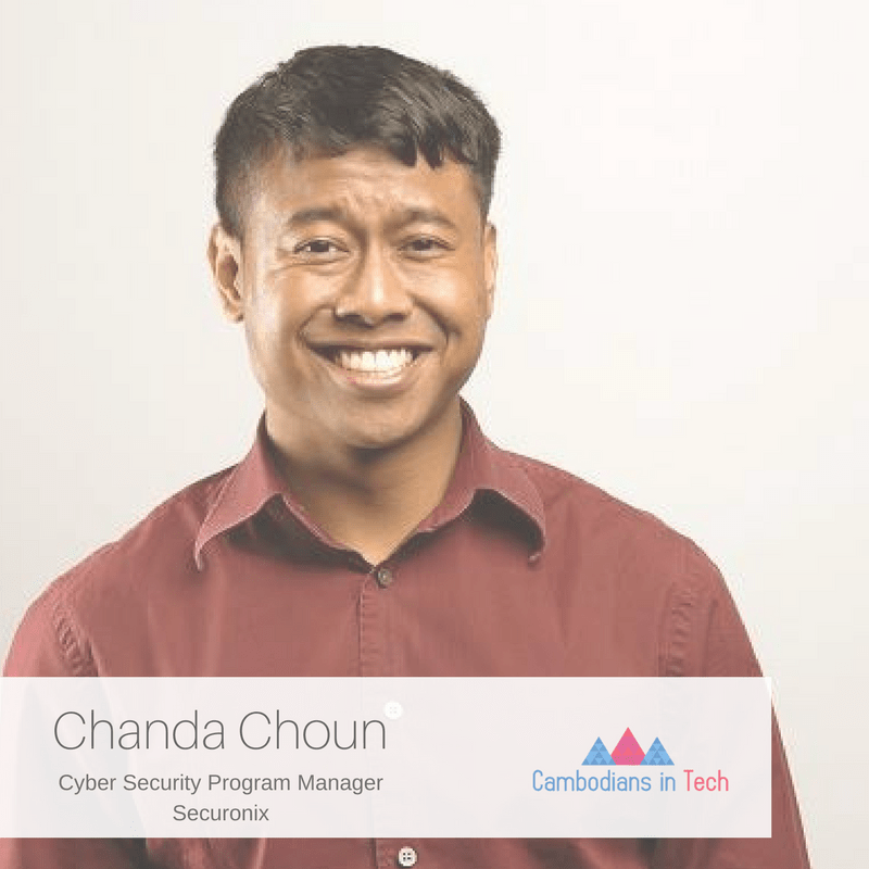 Meet Chanda Choun Cambodians In Tech