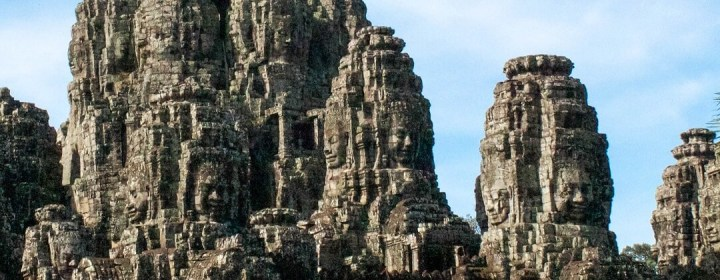 Face Towers Bayon Temple – Angkor Thom