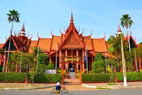 Nationaal Museum - Phnom Penh, Cambodja