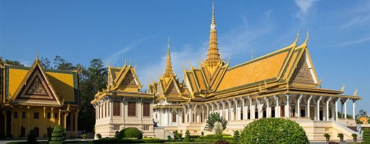 Throne Hall - Royal Palace, Phnom Penh, Cambodja