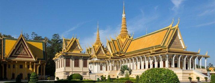Throne Hall – Royal Palace, Phnom Penh