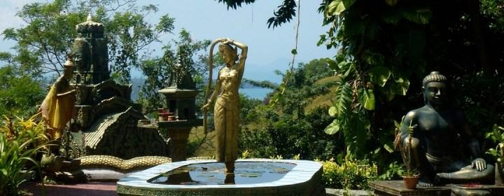Wat Leu, met prachtig uitzicht over Sihanoukville