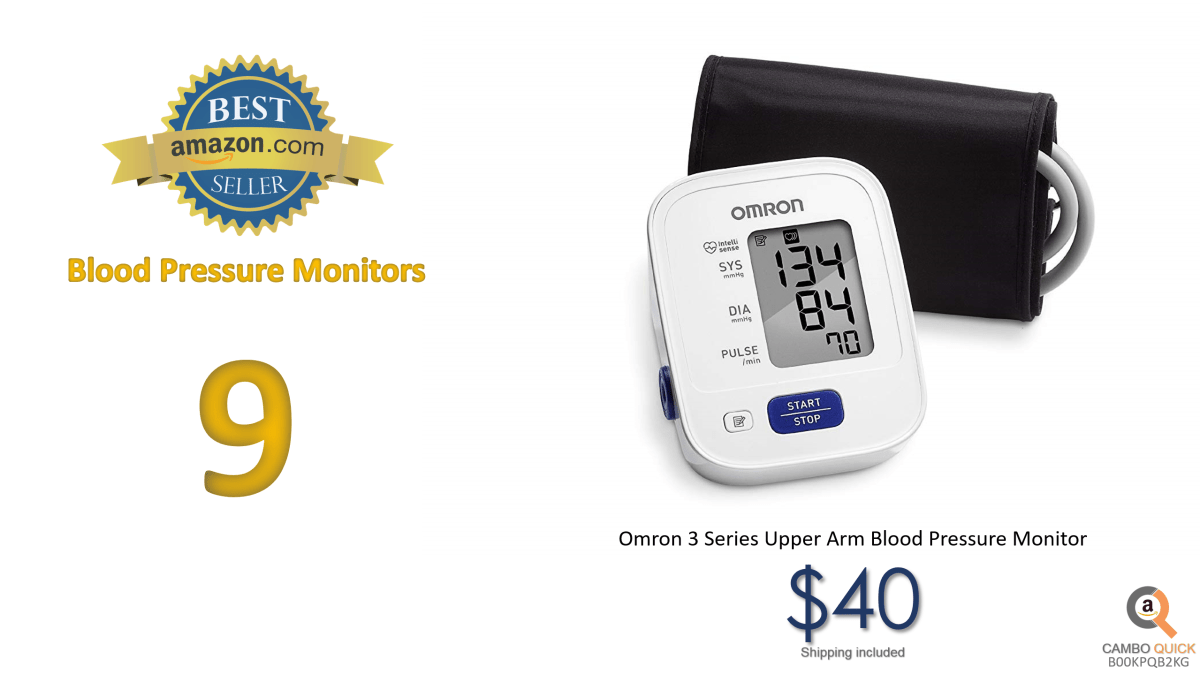 Omron 3 Series Upper Arm Blood Pressure Monitor (14 Reading Memory).png