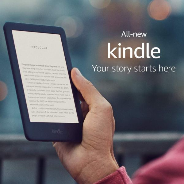 All-new Kindle – Now with a Built-in Front Light