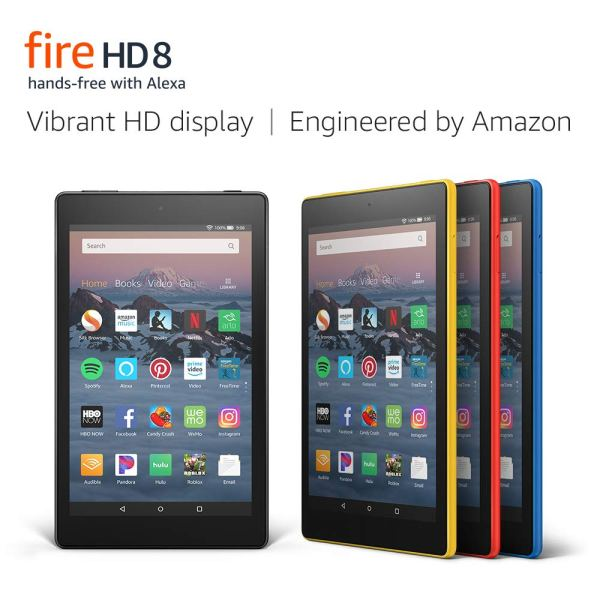 Fire HD 8 Tablet (8″ HD Display, with Special Offers)