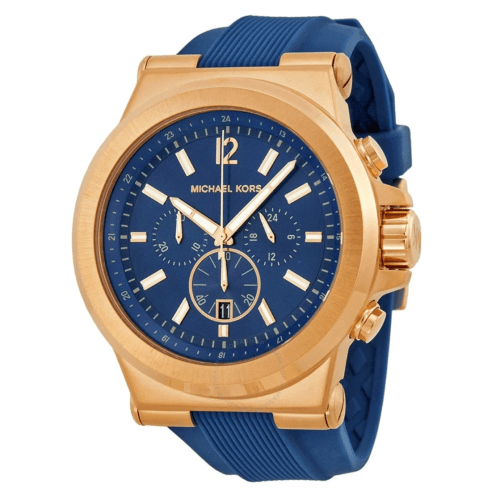 MICHAEL KORS Dylan Chronograph Navy Dial Men's Watch MK8295