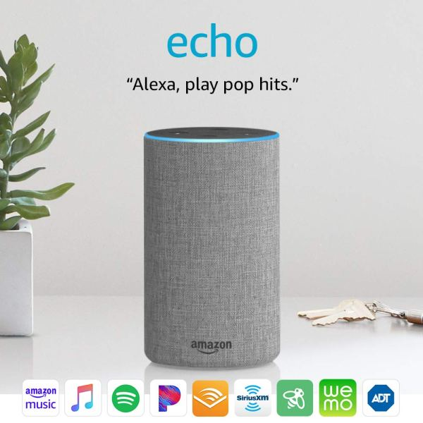 Echo (2nd Generation) – Smart speaker with Alexa