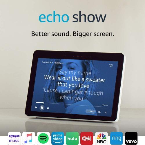 "Echo Show (2nd Gen) – Premium sound and a vibrant 10.1"" HD screen"