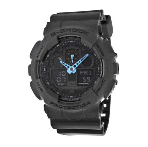 CASIO G Shock Grey Dial Resin GA100C-8ACR