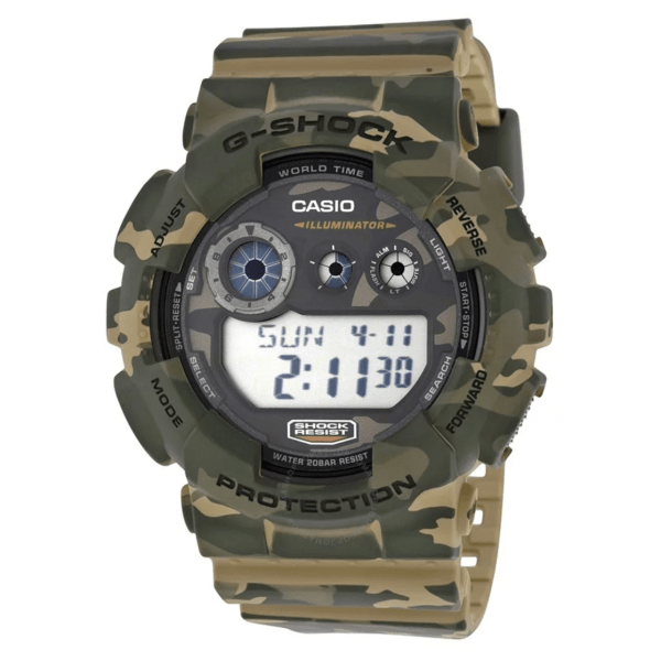 CASIO G Shock Classic Brown Camouflage GD120CM-5CR