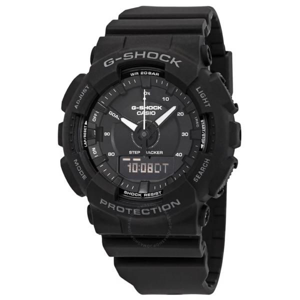 CASIO G Shock S Series Black Dial GMAS130-1A