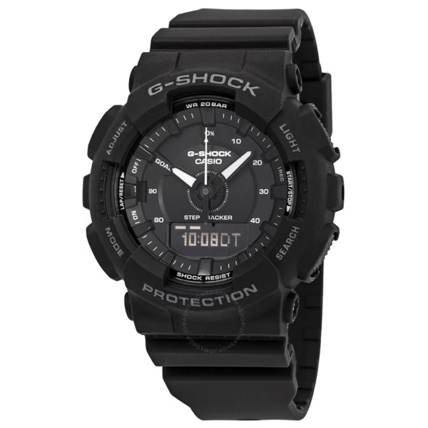 CASIO G Shock S Series Black Dial GMAS130-1A