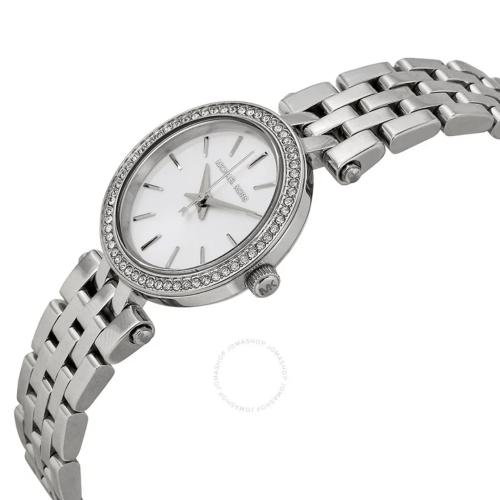 MICHAEL KORS Petite Darci Silver Dial Ladies Watch MK3294