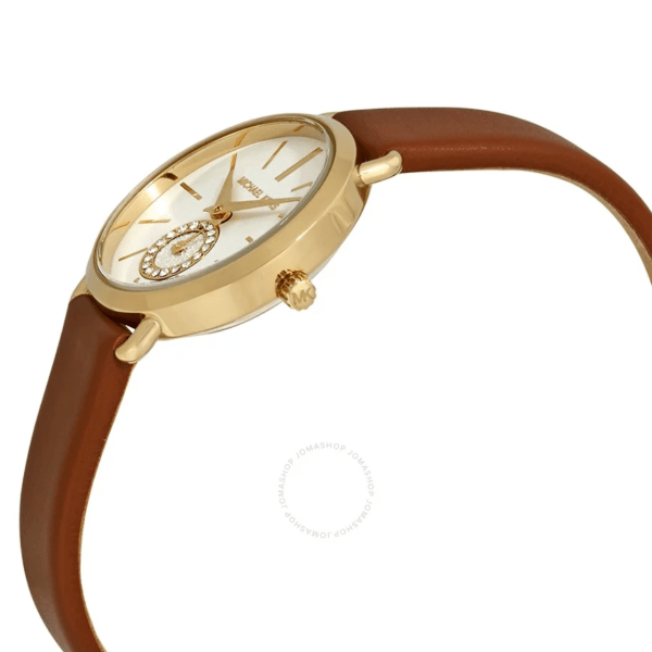 MICHAEL KORS Petite Portia Silver Dial Ladies Watch MK2734