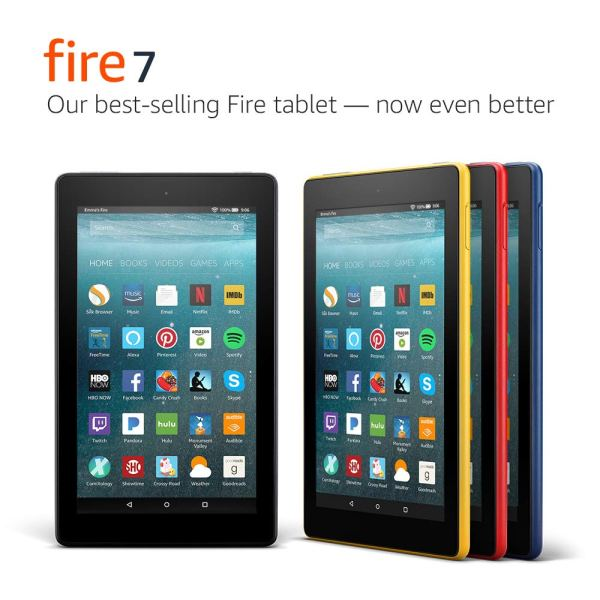 Fire 7 Tablet (7″ display, with Special Offers)
