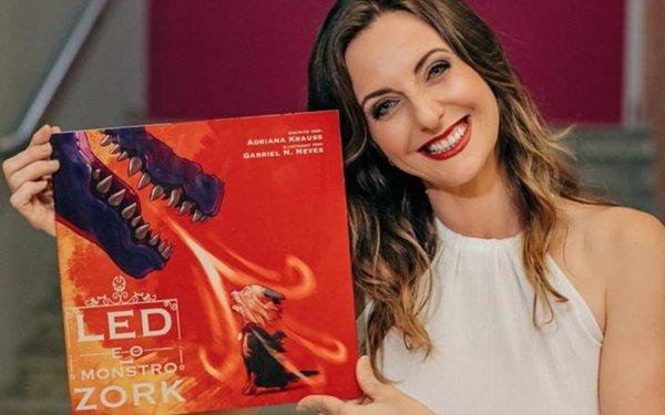 Jornalista catarinense lança obra literária infantil