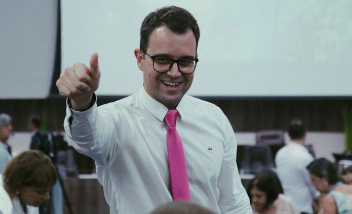 Lucas Gotardo, candidato a vereador pelo Novo, foca em propostas realistas