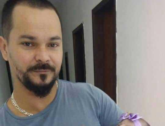 Uma das vítimas, Cristiano Diogo de Oliveira.