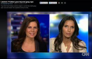 CNN Interview with Padma Lakshmi