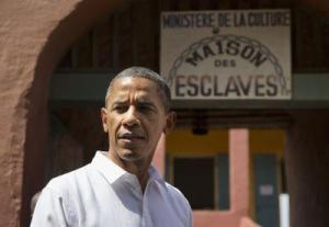 Cambria Press  President Obama pays homage to slave site in Senegal
