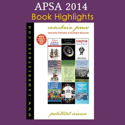 Cambria Press APSA2014 academic publisher