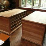 Magdalene College Samuel Pepys Library: Nicholas Ferrar documentary storage units
