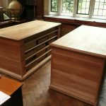 Magdalene College Samuel Pepys Library: Nicholas Ferrar documentary storage units