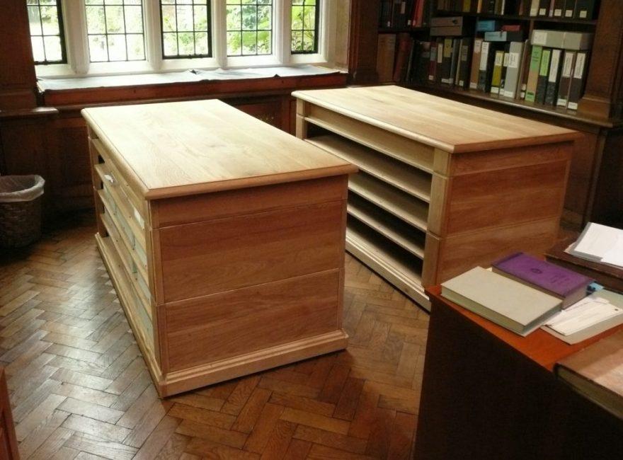 Magdalene College Nicholas Ferrar documentary storage units