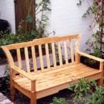 Unigely designed Pine bench