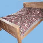 Bed made from a combination of Oak and Elm