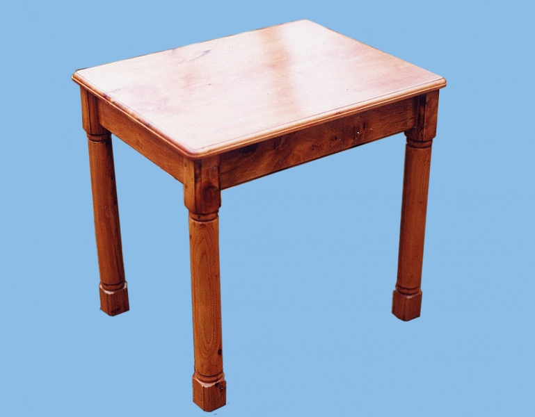 yew side table